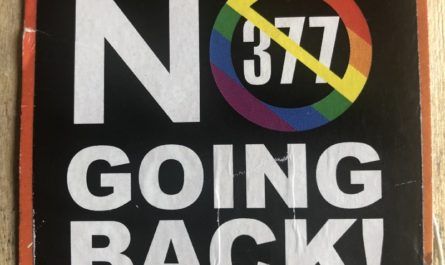 No Going Back Section 377 Sticker