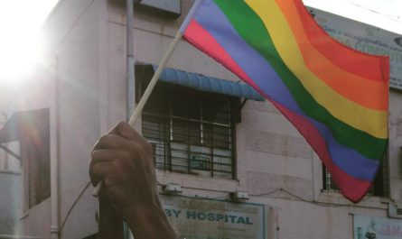 Rainbow Flag Raised at Chennai Pride